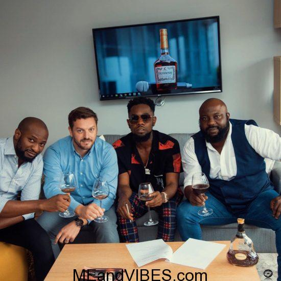 Patoranking Now Hennessy Brand Ambassador