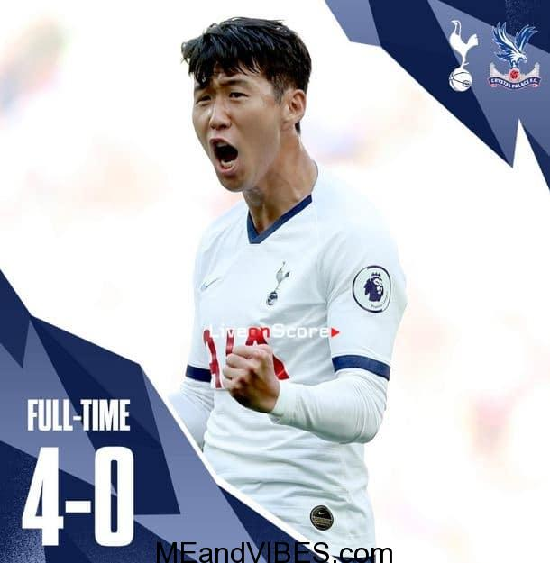 VIDEO: Tottenham vs Crystal Palace 4-0 - All Goals & Highlights